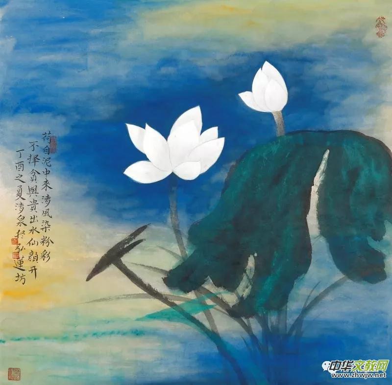 莲生妙相·清风徐来-林清泉佛像荷花作品全国巡展(上海)首展